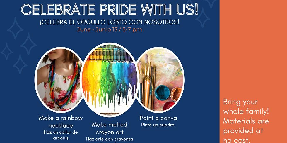 Celebrate Pride With Us! - ¡Celebra el orgullo LGBTQ con nosotros!