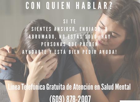 Grupo de apoyo a la búsqueda de empleo y recursos de salud mental para la comunidad latina.