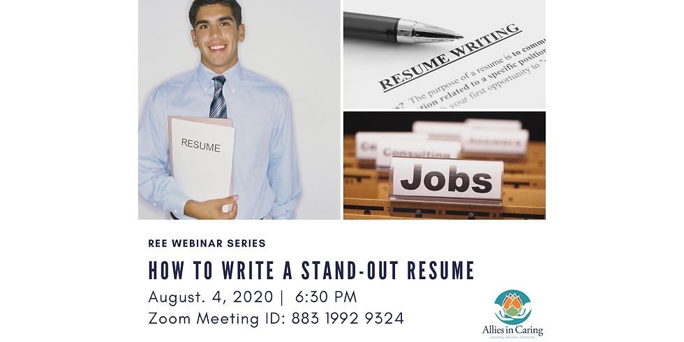 How to Write a Stand-Out Resume