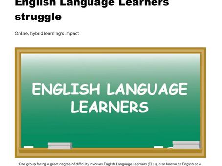 English Language Learners struggle