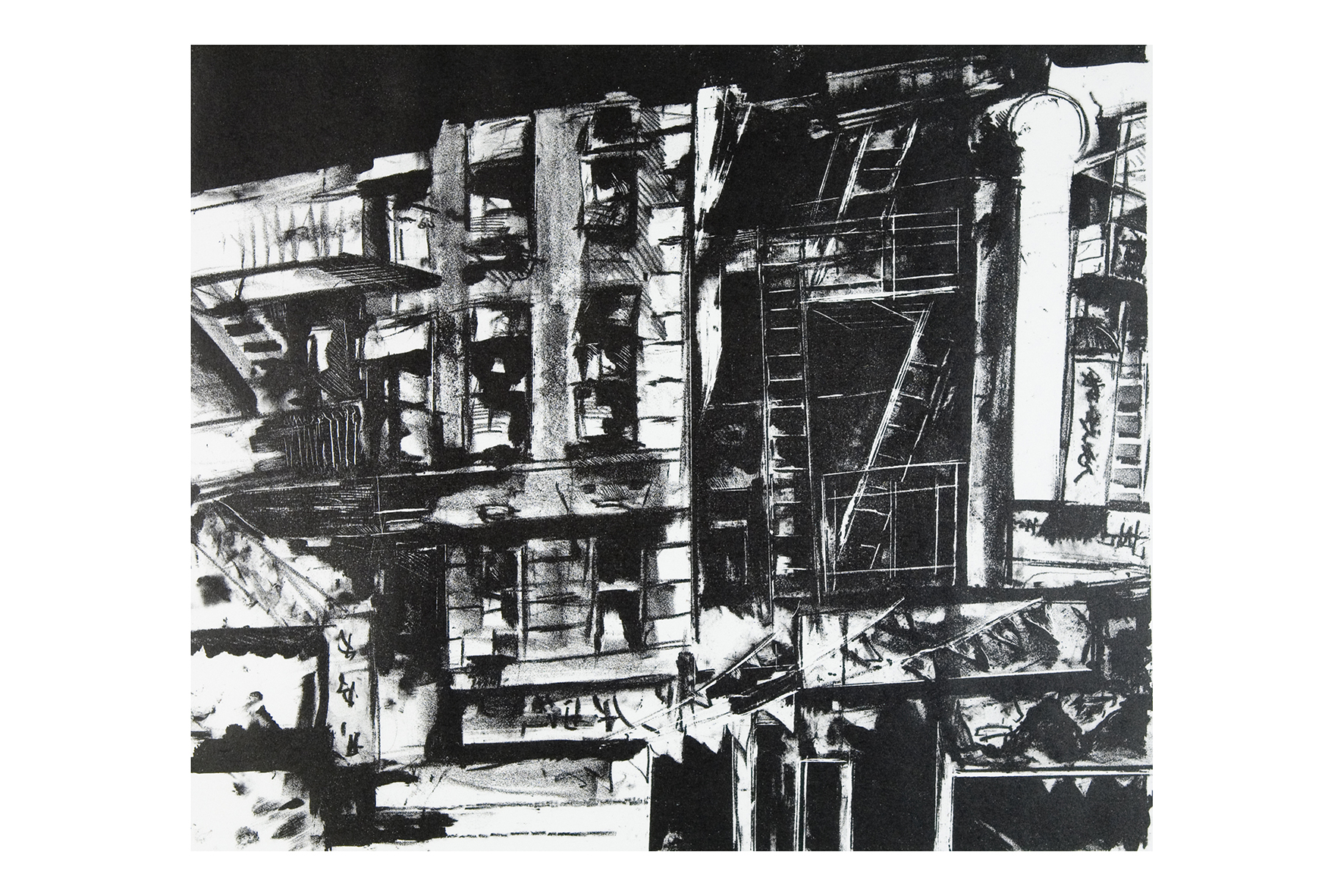 "1988 ""Chinatown by Night"" Litho.jpg"