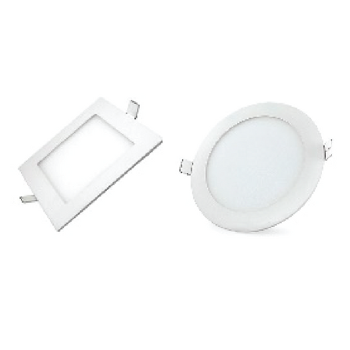 SLIM PANEL LED RECESSED 4""