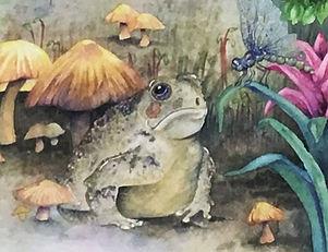 Jovial Frog,artist, illustrator, sculptor, artist for hire