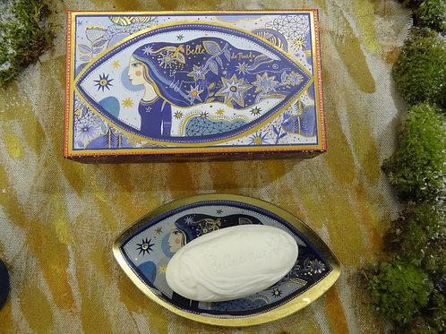 Подарочный набор мыло Belle de Nuit и мыльница