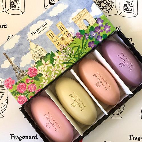 Fragonard набор мыла ассорти Фрагонар