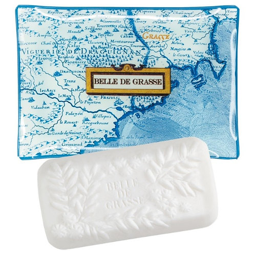 Belle de Grasse Fragonard мыло и мыльница