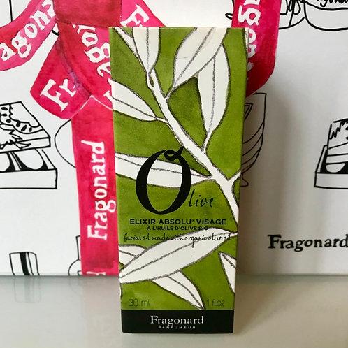 Fragonard OLIVE эликсир для лица на основе масла оливы