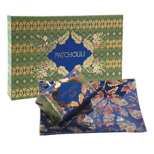 Fragonard Подарочный набор: мыло Patchouli, мыльница