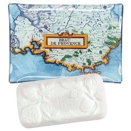 Beau de Provence мыло и мыльница