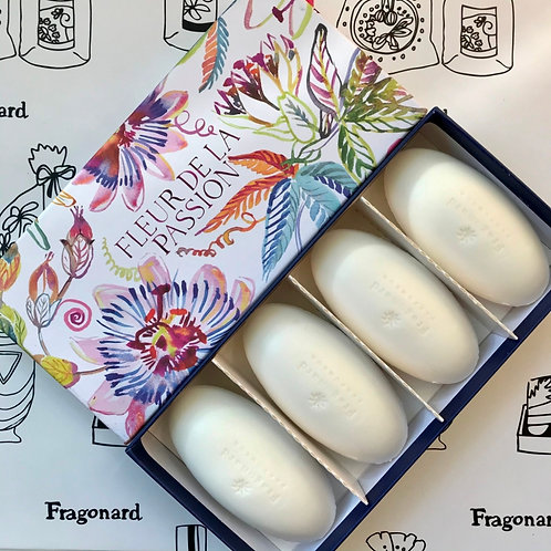 Fragonard набор мыла Fleur de la Passion