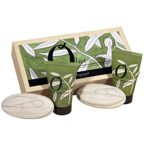 OLIVE Fragonard подарочный набор (крем для рук и мыло)
