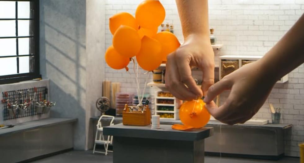 M&M's DIY Tiny Balloons