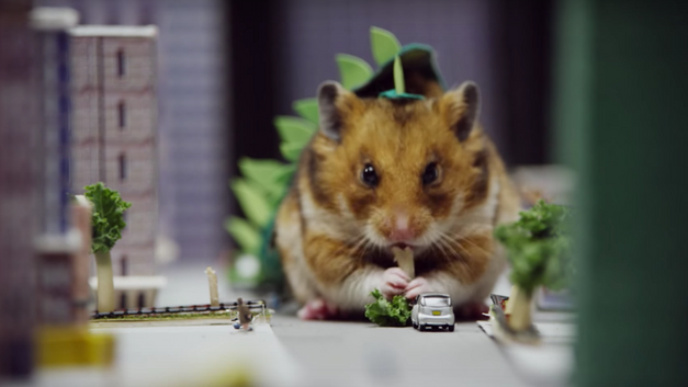 Tiny Hamster is a Giant Monster - WEB CONTENT