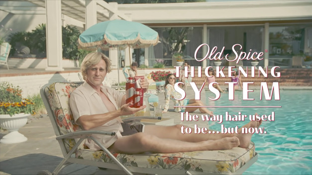 Old Spice - The Way Thick Hair Was - Commercial