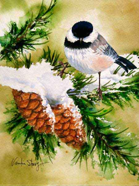Chickadee-Winter