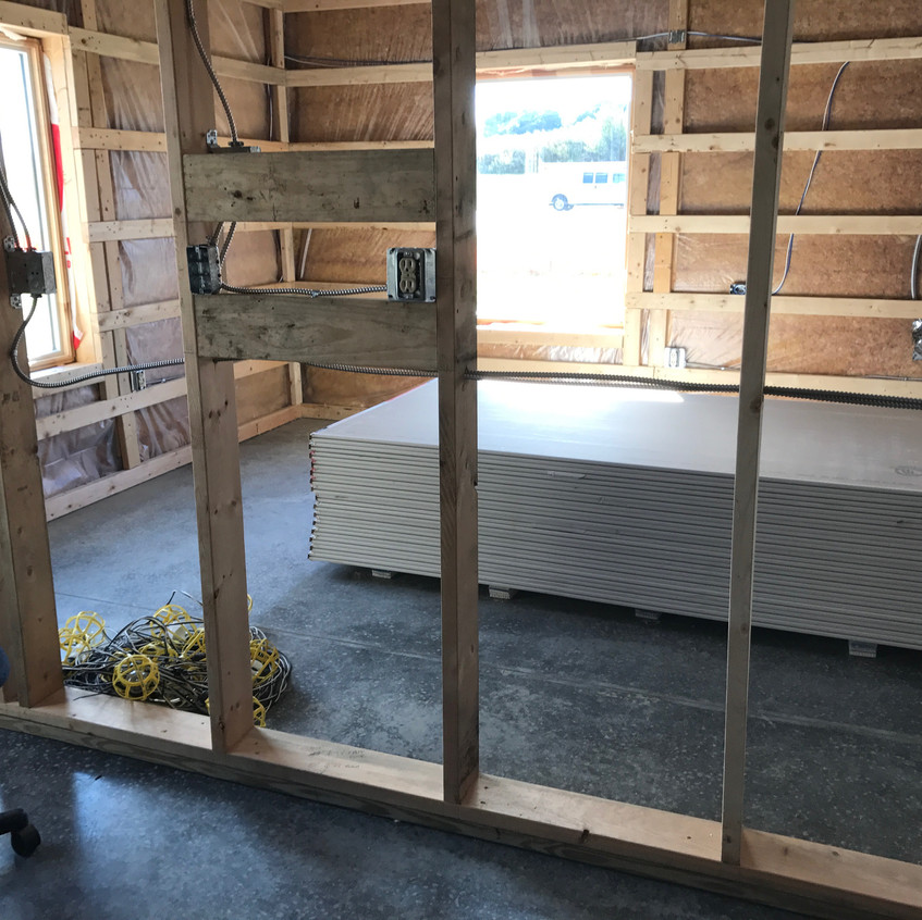 2017_08_24 Drywall delivery