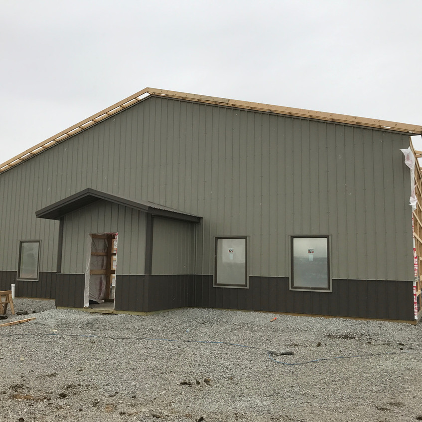 2017_05_02 Siding and windows on south