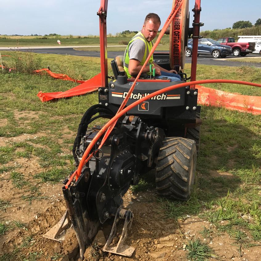 2017_08_28 Endeavor fiber optic install