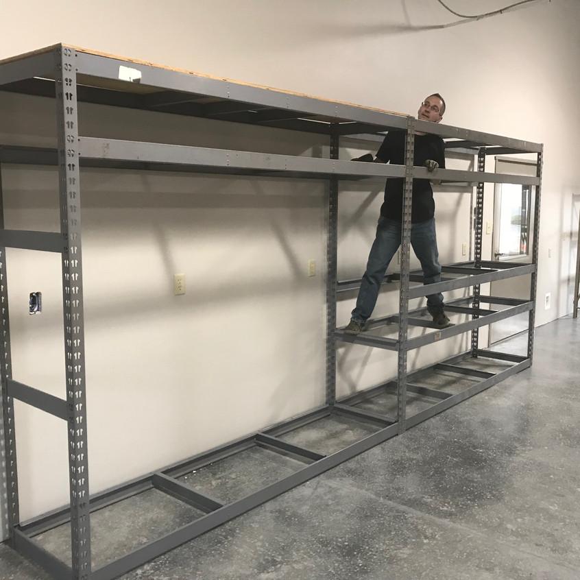 2017_12_14 Scott building shipping workstation
