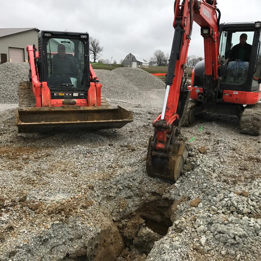2017_04_06 Sewer excavation