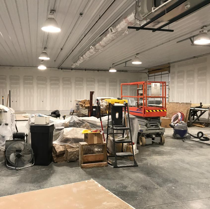 2017_09_12 Drywall finishing shop
