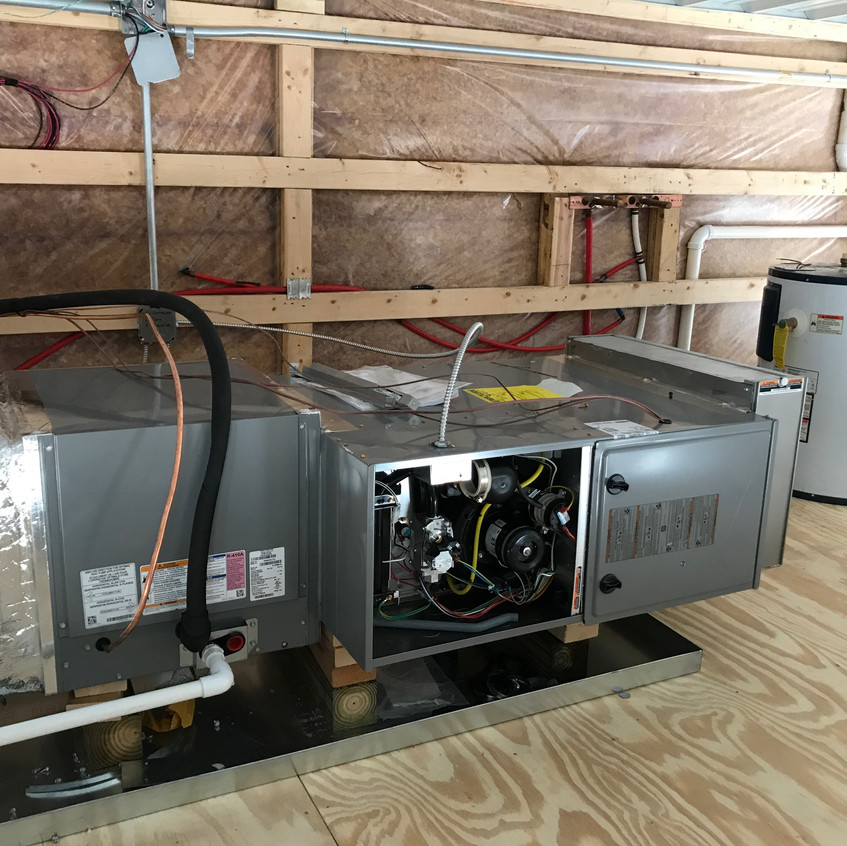 2017_07_31 Office HVAC and water heater