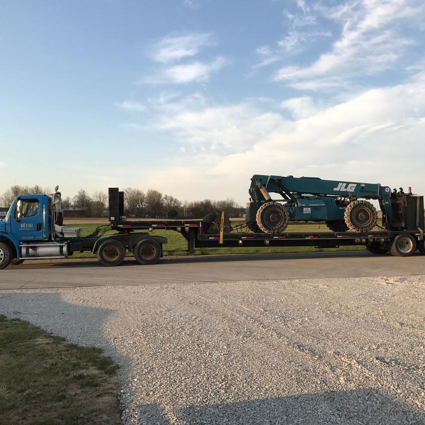 2017_04_10 JLG machine delivered