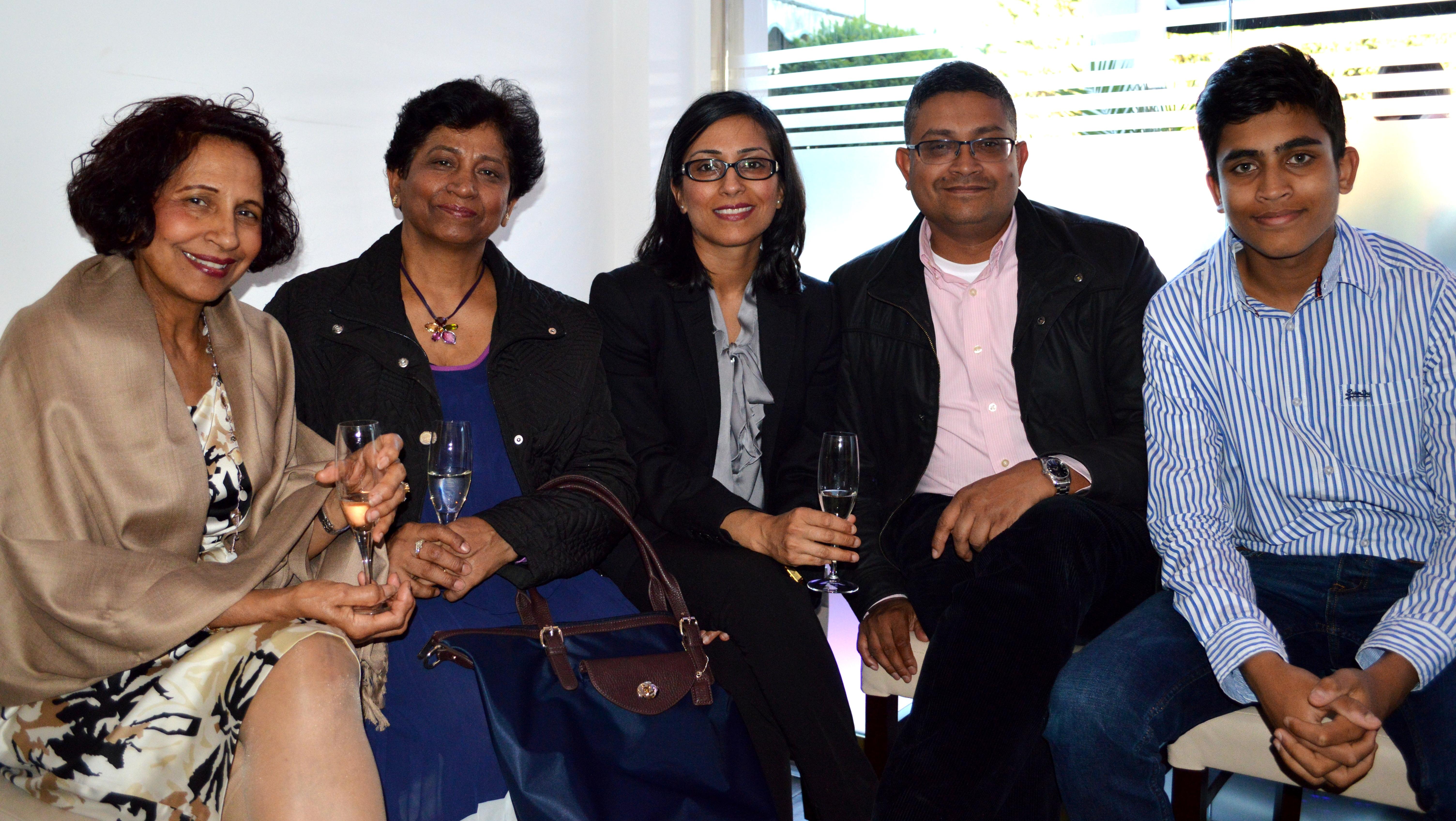Mrs S Talwar, Mona Mayo, Kanta Seth, Shefali Olivelle, Joseph Olivelle & Arum Ol