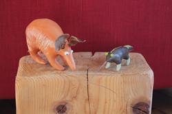 tapir et fourmilier