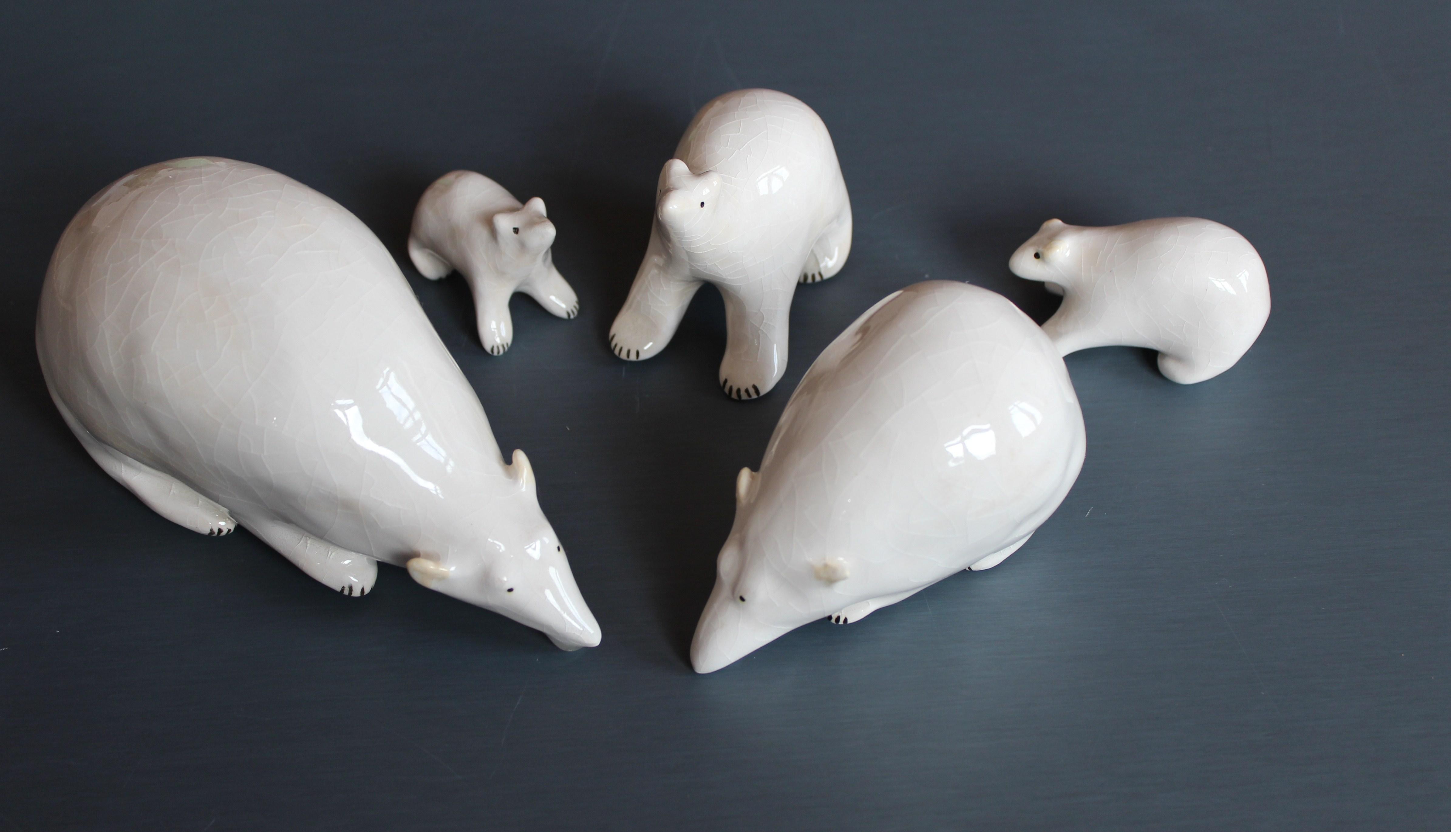 ours  sur le zinc