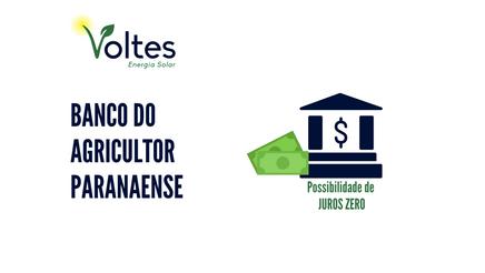 BANCO DO AGRICULTOR PARANAENSE É LANÇADO
