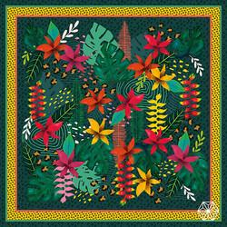 lusentose-selva-flores-lenco-textil