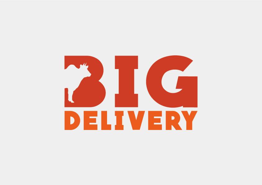 Identidade visual para açougue delivery.