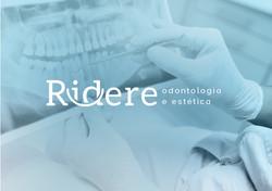 Logotipo clínica odontológica e de estética. Marca profissional com inspiração no sorriso.