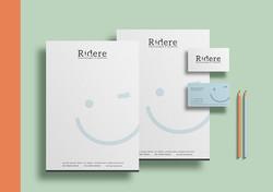 cartão de visita para clínica odontológica. Timbrado personalizado com identidade visual própria. Id