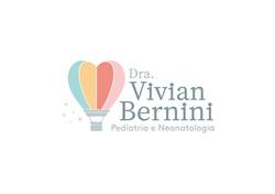 Logotipo lindo e colorido para médica pediatra. Pediatria com identidade visual fofa e alegre.