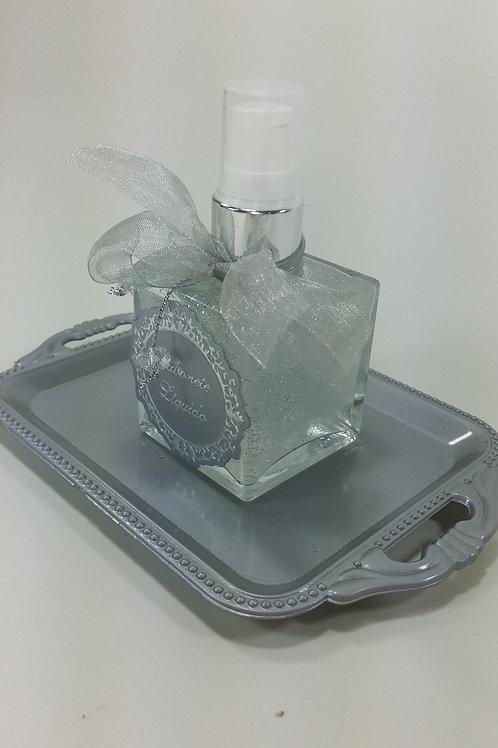 ref 287 cubo sabonete liquido 50ml bebê prata