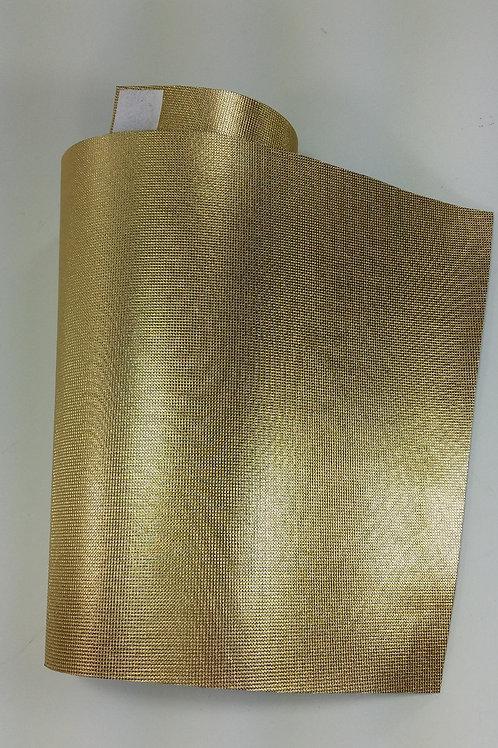 ref 215 capa para garrafa térmica de 500 ml - dourada