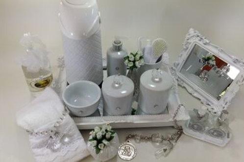 vitrine kit higiene cristal transp -band branca