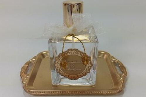 ref 291 cubo aromatizador 100ml bebê dourado