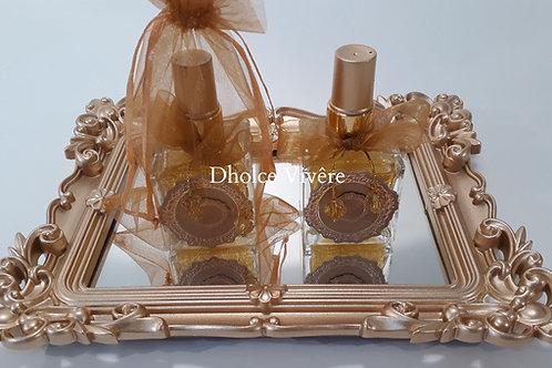 ref 539 sabonete 50ml bebê francês - dourado