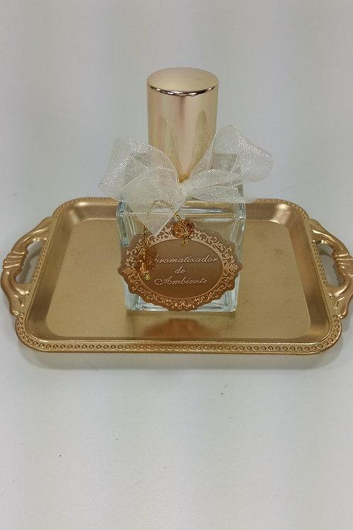 ref 538 cubo aromatizador 50ml bebê dourado