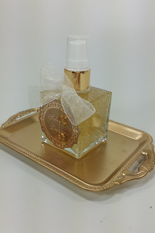 ref 539 cubo sabonete liquido 50ml bebê dourado