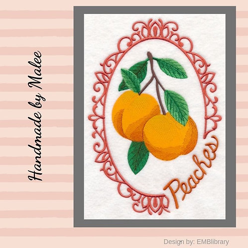 Fruit Cameo  - Peaches