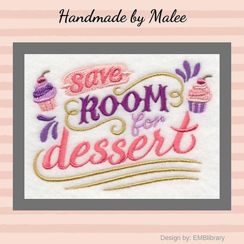 Save Room for Dessert Small Design