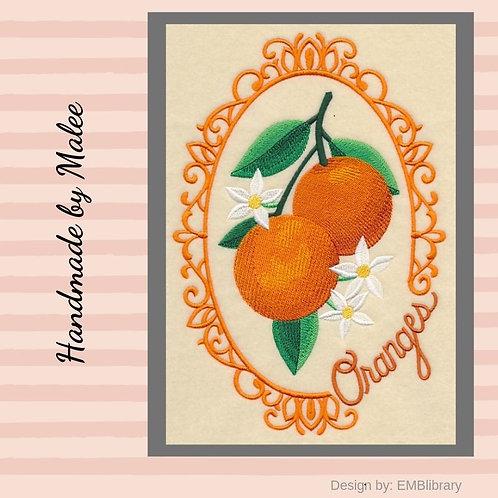 Fruit Cameo  - Oranges