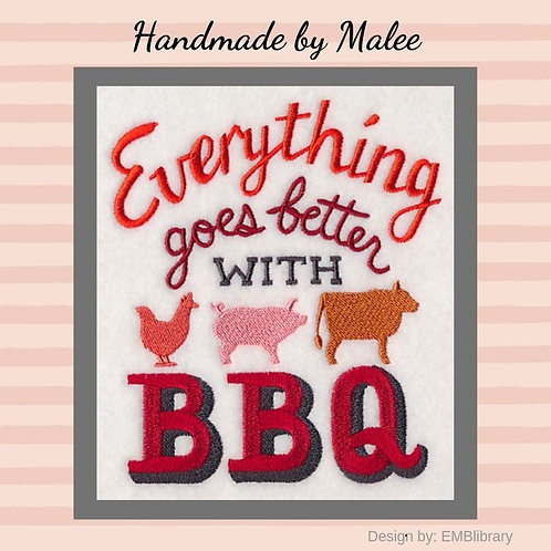Everything Goes Better With BBQ
