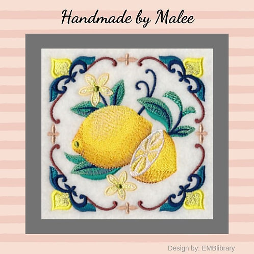 Majolica Lemon Square Small