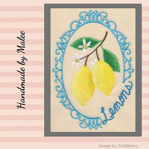 Fruit Cameo  - Lemons