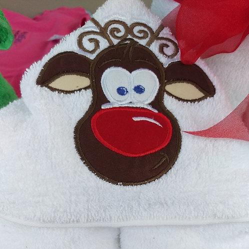 Reindeer with Snow